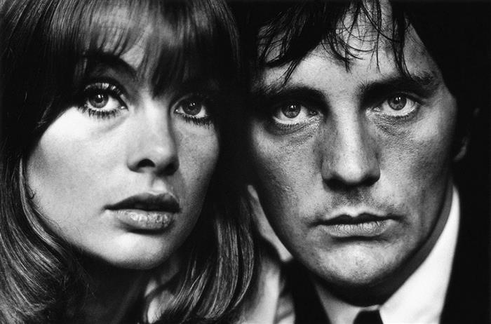 Jean Shrimpton and Terence Stamp, 1963