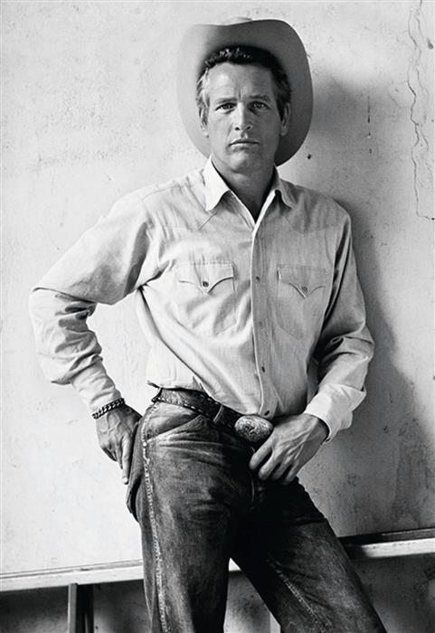 Terry O'Neill, Paul Newman in a publicity for the comedy western 'Pocket Money', Tuscon, Arizona 197