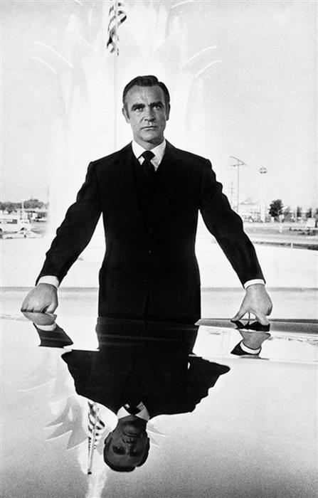 Sean Connery Reflection