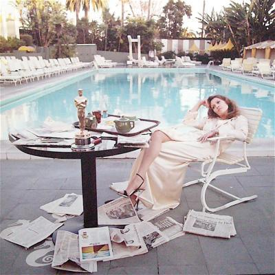 Faye Dunaway Iconic shot 'The Morning After'