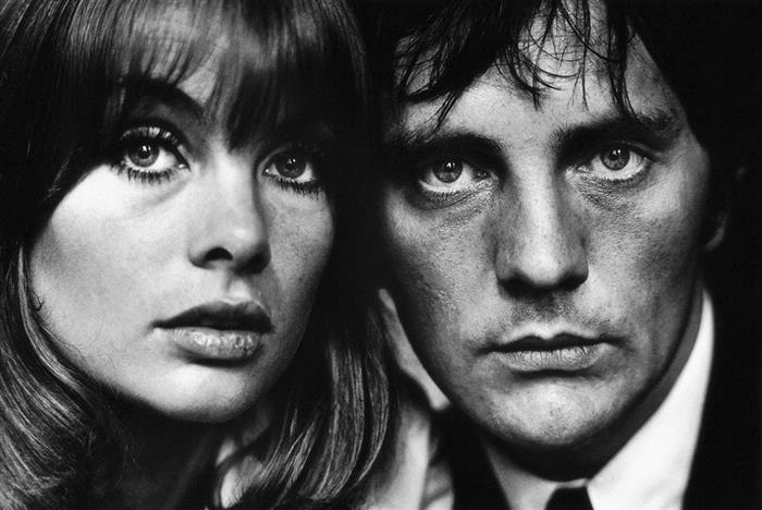 Jean Shrimpton and Terence Stamp, 1964 ,
