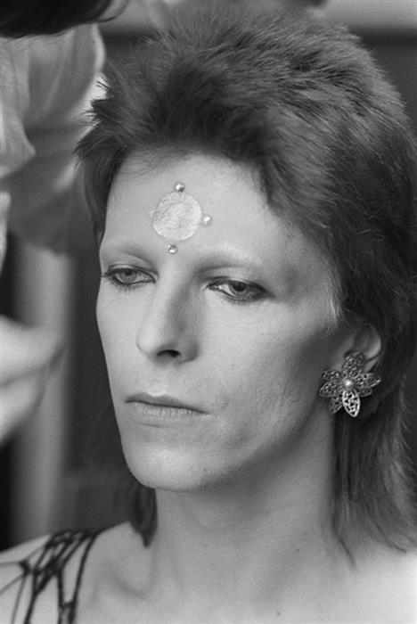 David Bowie, performed for the last time as Ziggy Stardust, at the marquee club, 1973