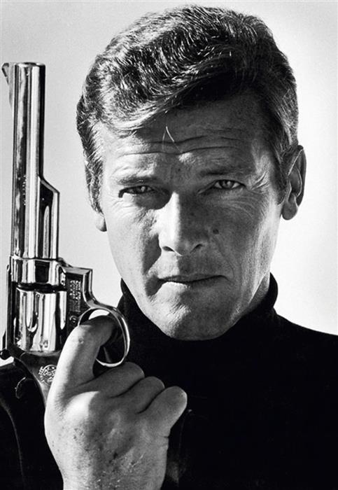 Roger Moore as James Bond  1970