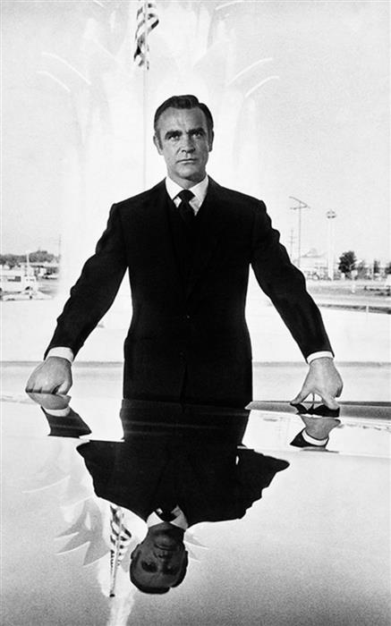 Sean Connery as James Bond  Reflection