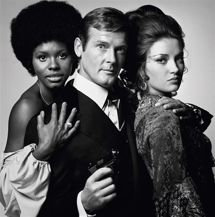 Roger Moore as James Bond 'Live and Let Die'