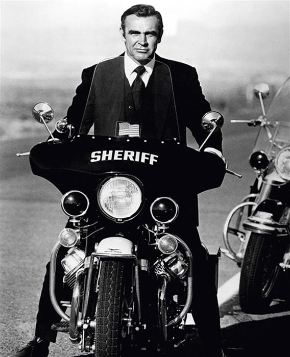 Sean Connery as James Bond Sheriff