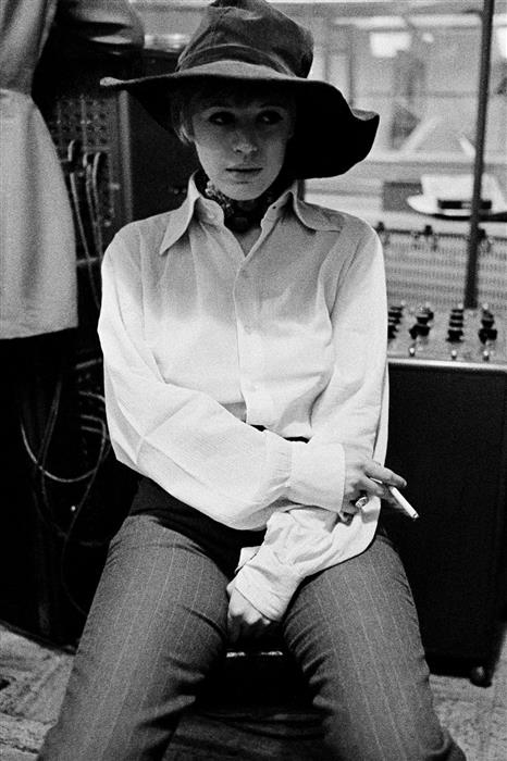 Marianne Faithfull Recording