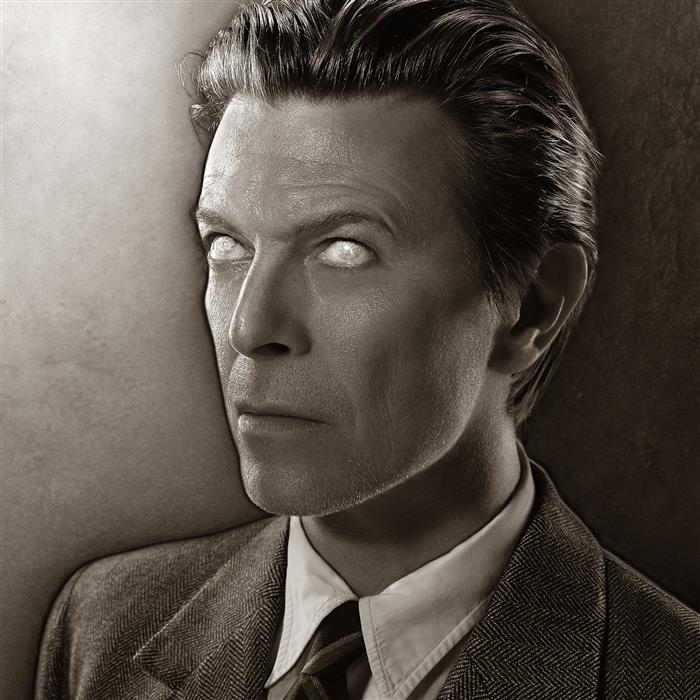 'David Bowie for his twenty-second studio album 'Heathen', released in June 2002'