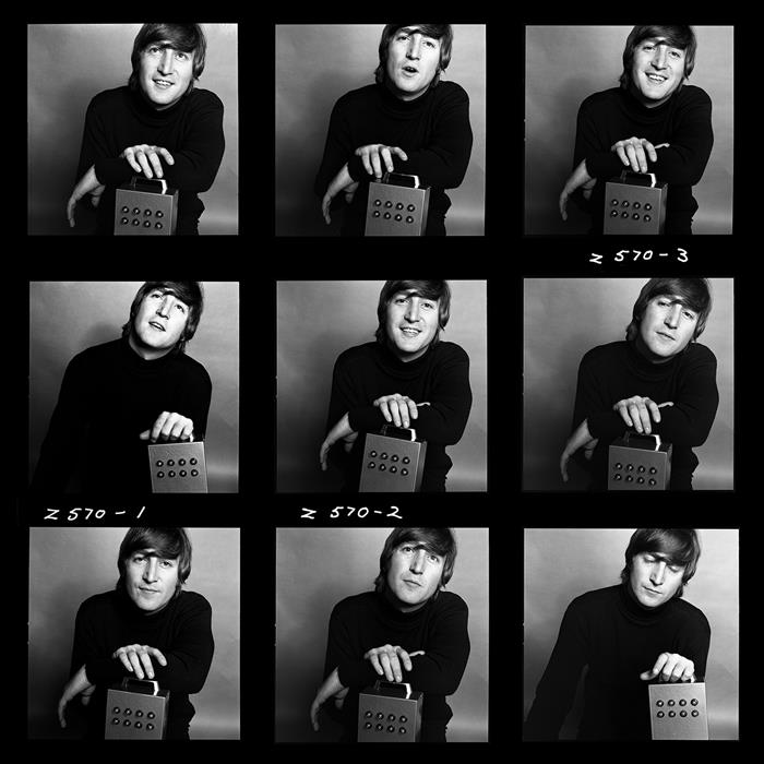 John Lennon  contact sheet
