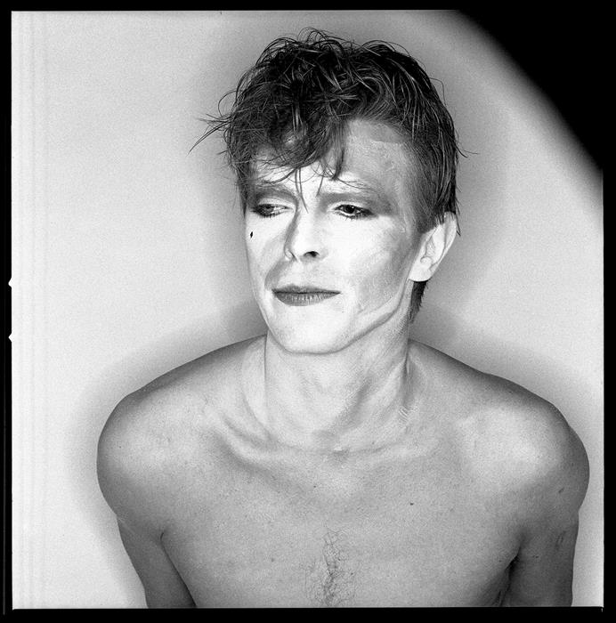 David Bowie,Scary Monster session 1980 ,press photographs shot by Chris Duffy