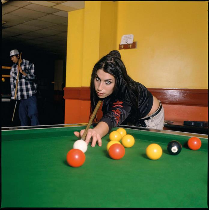 Amy Winehouse Pool Room